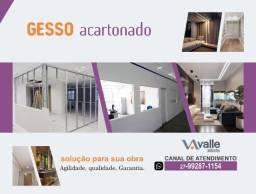 Título do anúncio: Gesso Acartonado, Paredes Divisórias, Rebaixamento, Nincho - Reforma, Pintura.