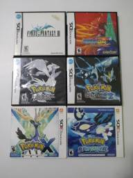 Jogos originais DS e 3DS ( valores na descrição)