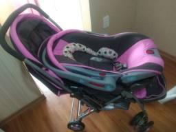 Carrinho conjunto bebê conforto