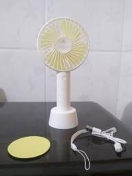 Ventilador portátil recarregável