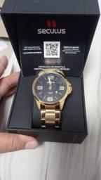 Relógio novo .
