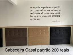 CABECEIRA CASAL PADRÃO - ENTREGAMOS