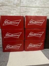 Caixinha de cerveja Budweiser ( 6 caixas )