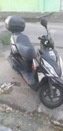 Moto Honda 125 Elite Vai c/bagajeiro (URGÊNCIA NA VENDA)