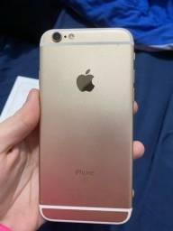 iPhone 6S na caixa - Bateria em 100%