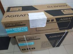 Ar Split Agratto Inverter 18000 BTUs + Novo + Nota + Garantia + Aceito Cartão