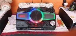 Título do anúncio: Som Panasonic Max 9000 potência 3300W.