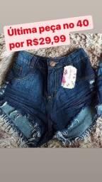 Promoção short jeans