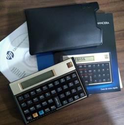 Título do anúncio: Calculadora financeira 12C Gold F2230A HP BT