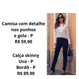 Título do anúncio: Camisa / Calça Skinny