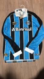Camisa Grêmio longa 2019 GG na etiqueta