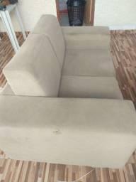 Título do anúncio: Vendo sofá 2 lugares (350,00) aceitamos cartões