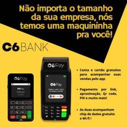 C6 Pay máquinas de cartão para a sua empresa