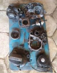 Título do anúncio: Vendo ou troco peças de motor de ml 125 ohc