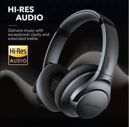 ?Fone Bluetooth Anker Q20 Life ? com Active Noise Canceling