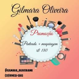 Título do anúncio: Maquiagem + Penteado