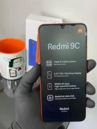 Xiaomi Redmi 9C 10X S/Juros 64GB/ 3 Ram Loja Fisica/1 Ano de  Garantia/Brinde