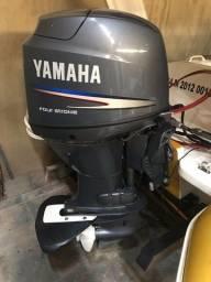 Motor de popa 60hp 4 tempos Yamaha