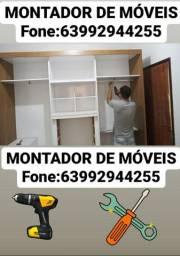 Título do anúncio: MONTADOR DE MÓVEIS (FONE: *)
