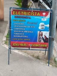 Serviço elétrico residencial