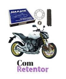Kit Relação Honda CB600f Hornet 2008 a 2014 - Nakata
