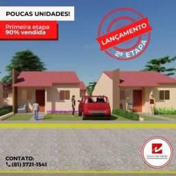 Casas Financiadas em Nova Caruaru - Bairro 100% Estruturado e Parcelamento de Entrada