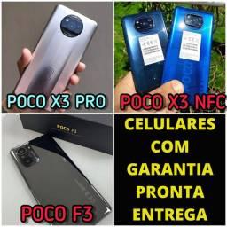 Poco X3 / Poco X3 Pro / Poco F3 a partir de r$ 1549