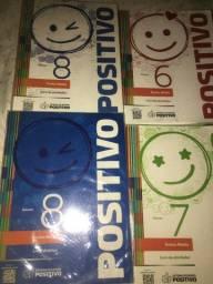 Livros da positivo/ ensino médio