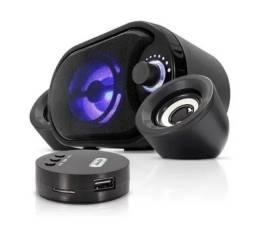 Caixa de som com receptor bluetooth para PC