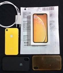 Título do anúncio: iPhone XR 64GB (C/ Nota Fiscal)