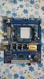 Título do anúncio: Placa mãe AMD AM3+ asrock aceito cartão faço entrega