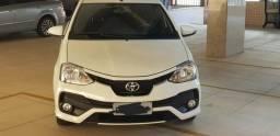 Etios Toyota Platinum Quase 0Km! - 2018