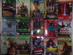 Revistas xbox playstation e preview