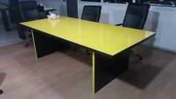 Mesa de reunião para escritório alto padrão