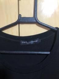 Camiseta Dolce e gabbana M NOVA