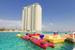 Apartamento brasil beach 88m2 com 1 suite
