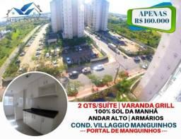 Oportunidade - Apartamento 02 Qts Suite - Sol manhã - Morada de laranjeiras