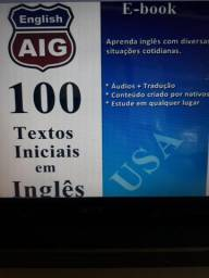 Kit inglês aprenda inglês sozinho!!!