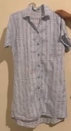 Vestido chemise cor com amor G