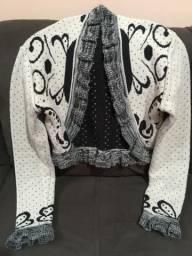 Bolero de tricô