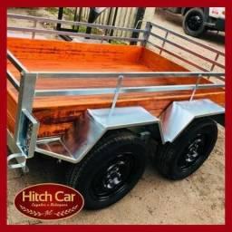 Carretinhas trucadas com alta capacidade de carga - Hitch Car