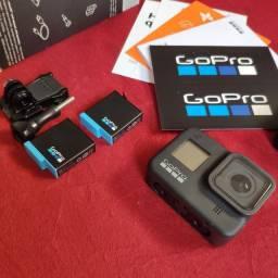 Gopro 8 black 2 baterias