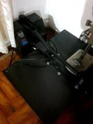 Prensa e impressora