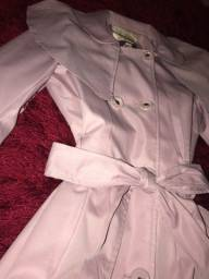 Lilica Ripilica - Casaco Trench Coat Rosa