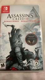 Assassins creed III remaster e assassins liberation (2 jogos em 1) dublado pt-br