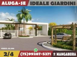 Ideale Giardini-2/4 Térreo-Mangabeira-Feira de Santana-Ba