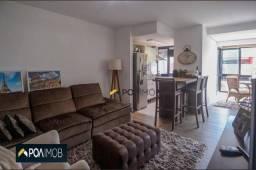 Apartamento com 1 dormitório para alugar, 54 m² por R$ 2.200,00/mês - Menino Deus - Porto