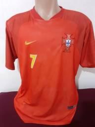 Camiseta Da Seleção De Portugal