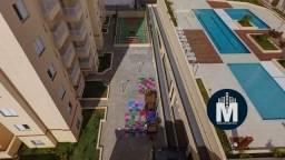 Apartamento de 48m² com 2 dormitórios, sacada e 1 vaga - Jardim Conceição -