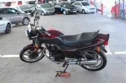Honda Cb 450 Dx Vermelho